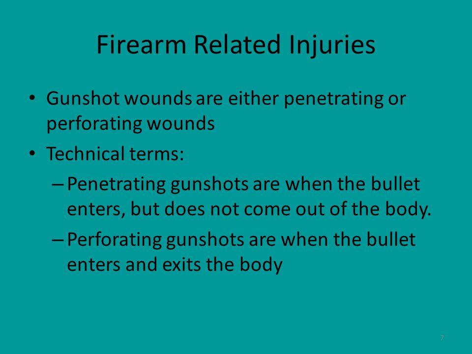 8 Perforating Gunshots
