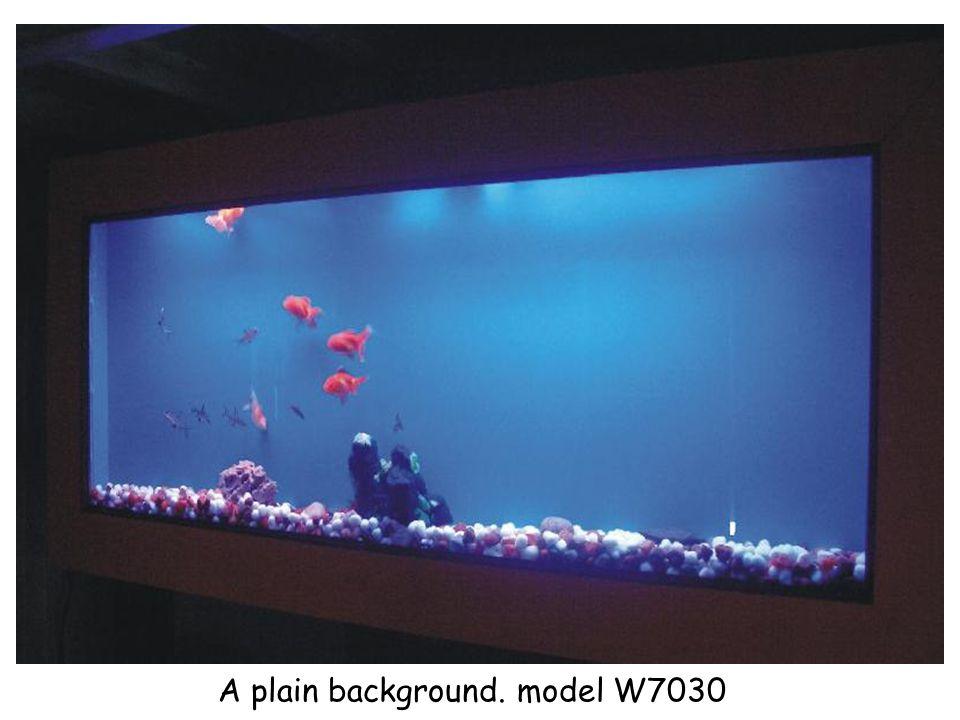 A plain background. model W7030