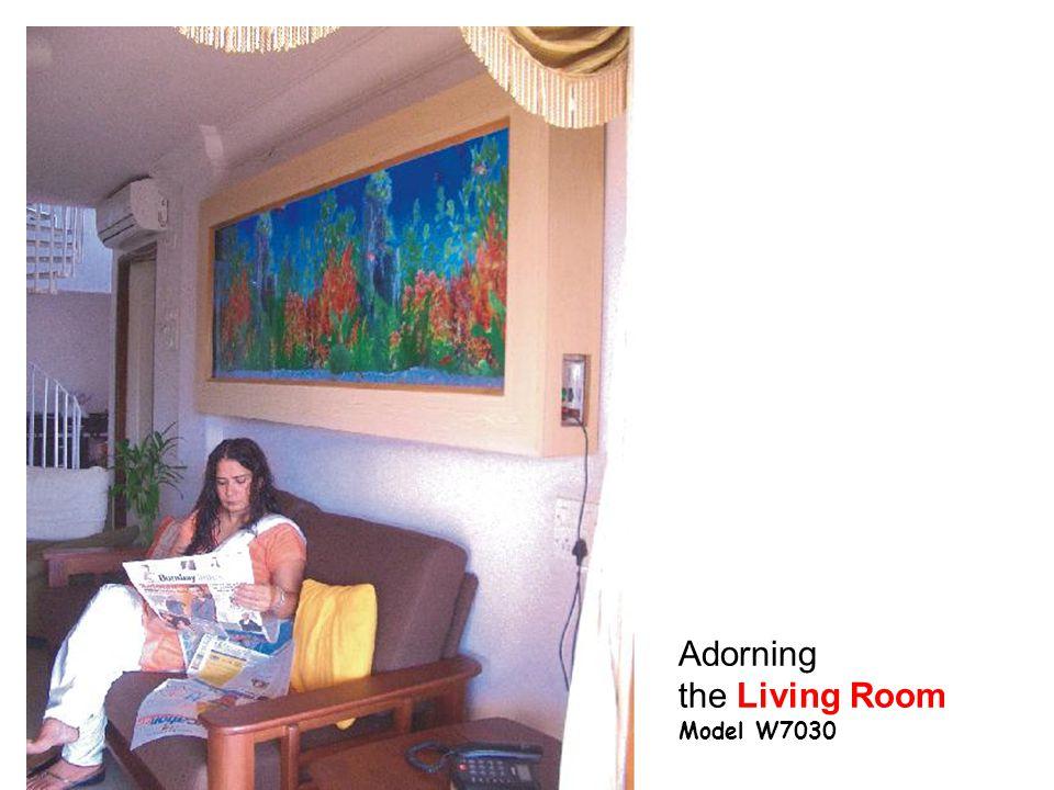 Adorning the Living Room Model W7030