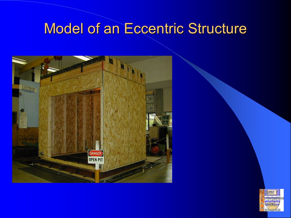 Model of an Eccentric Structure