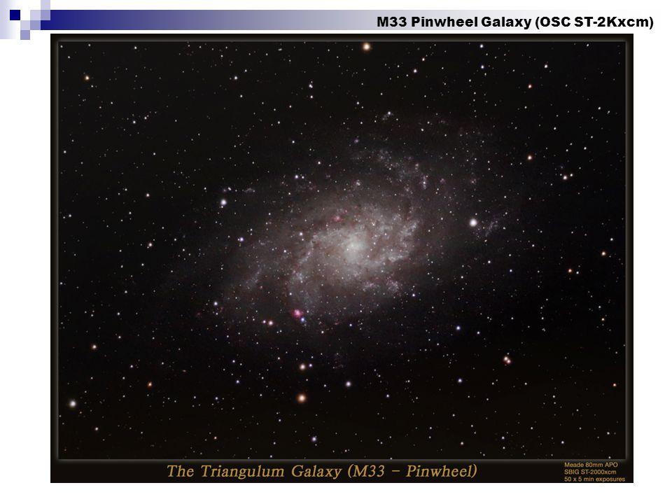 M33 Pinwheel Galaxy (OSC ST-2Kxcm)