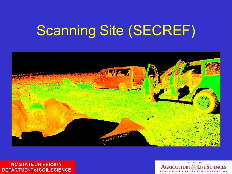 NC STATE UNIVERSITY DEPARTMENT of SOIL SCIENCE Scanning Site (SECREF)