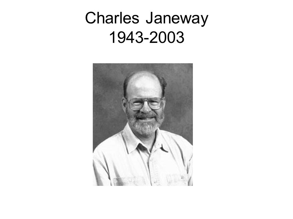 Charles Janeway 1943-2003