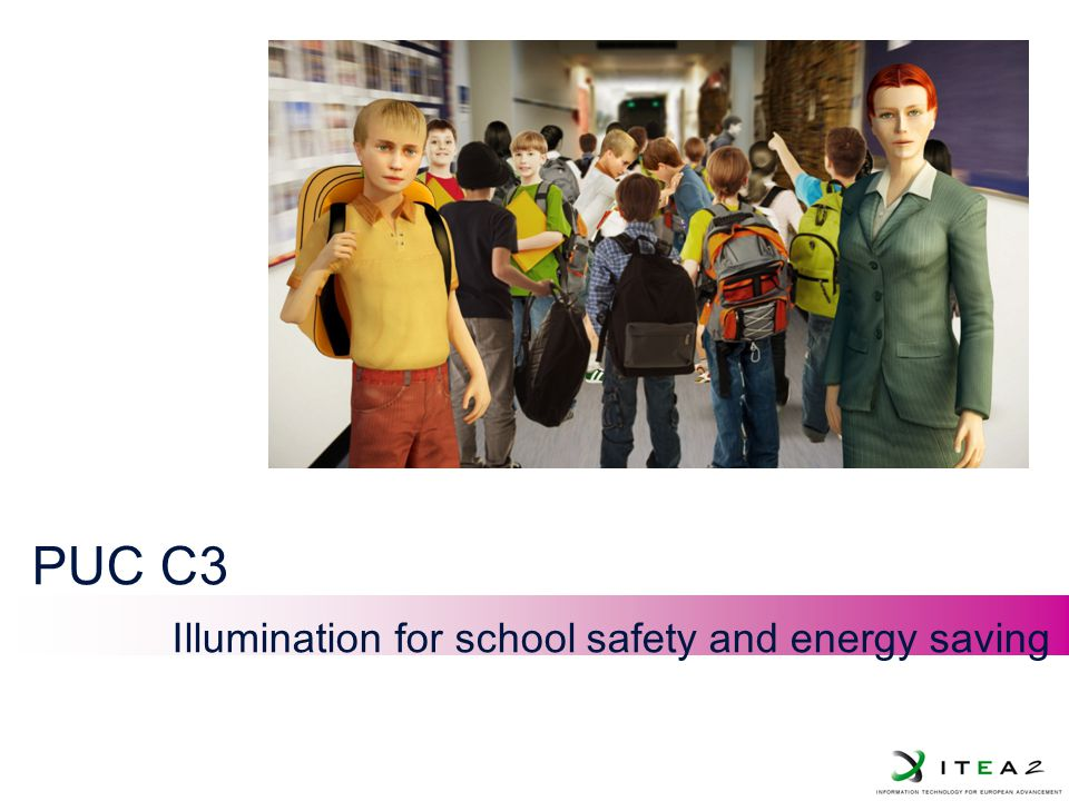 JL-1 PUC C3 Illumination for school safety and energy saving
