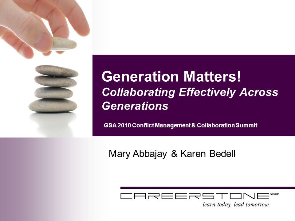 Generation Matters.