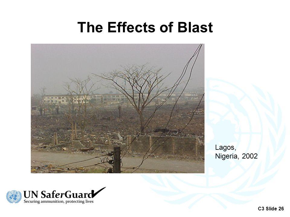The Effects of Blast Lagos, Nigeria, 2002 C3 Slide 26