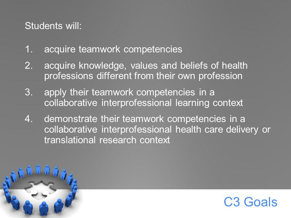C3 Conceptual Framework