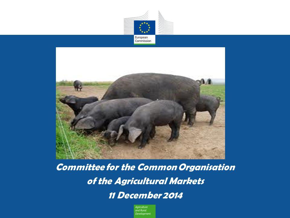DG AGRI C3 11 December 2014