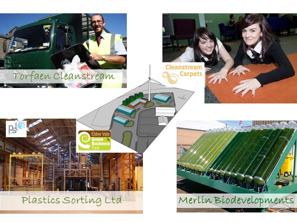 Plastics Sorting Ltd Merlin Biodevelopments Torfaen Cleanstream
