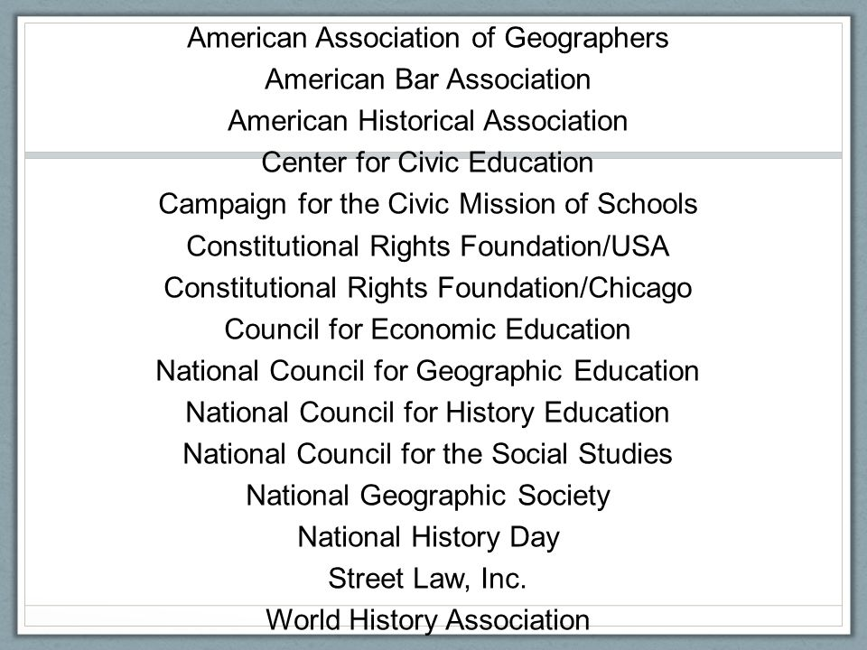 The social studies is an interdisciplinary exploration of the social sciences and humanities, including civics, history, economics, and geography, in order to develop responsible, informed, and engaged citizens and to foster civic, global, historical, geographic, and economic literacy.
