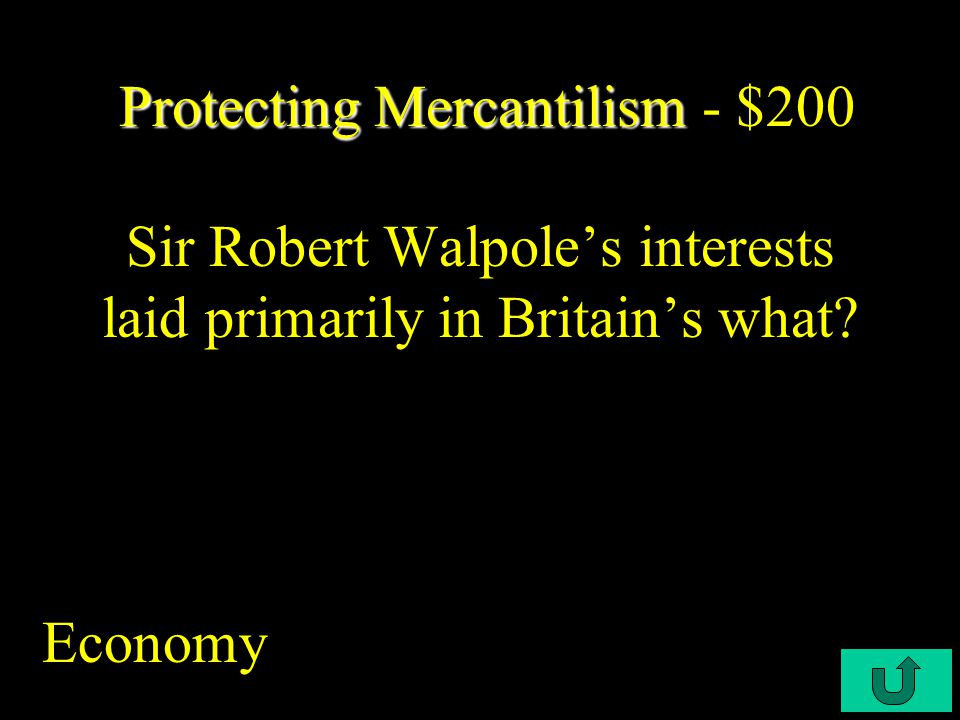 C3-$500 Salutary Neglect Salutary Neglect - $1000 Who warned that Walpole's policies of high taxes and bloated royal bureaucracy threatened British liberties.