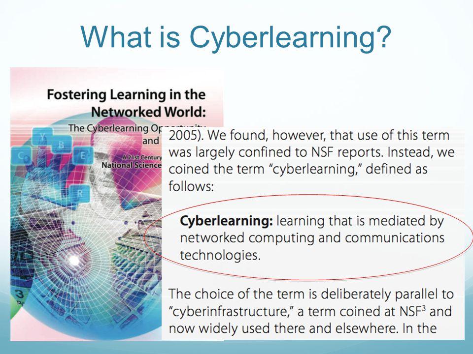 What is Cyberlearning