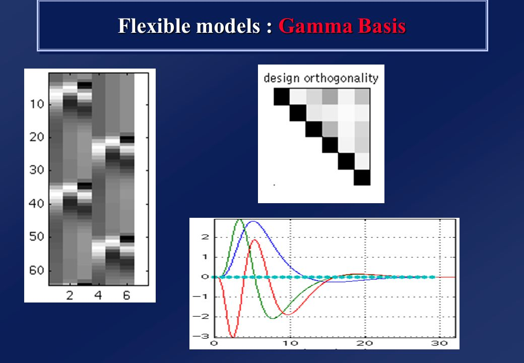 Flexible models : Fourier Basis