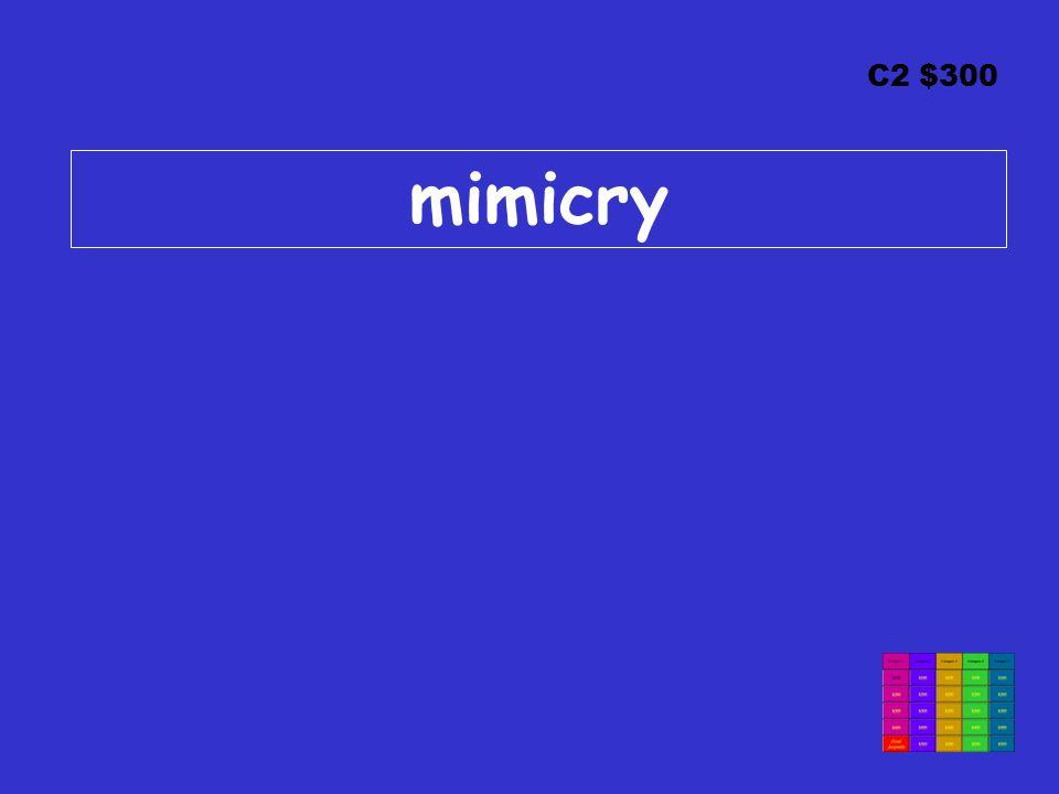 C2 $300 mimicry