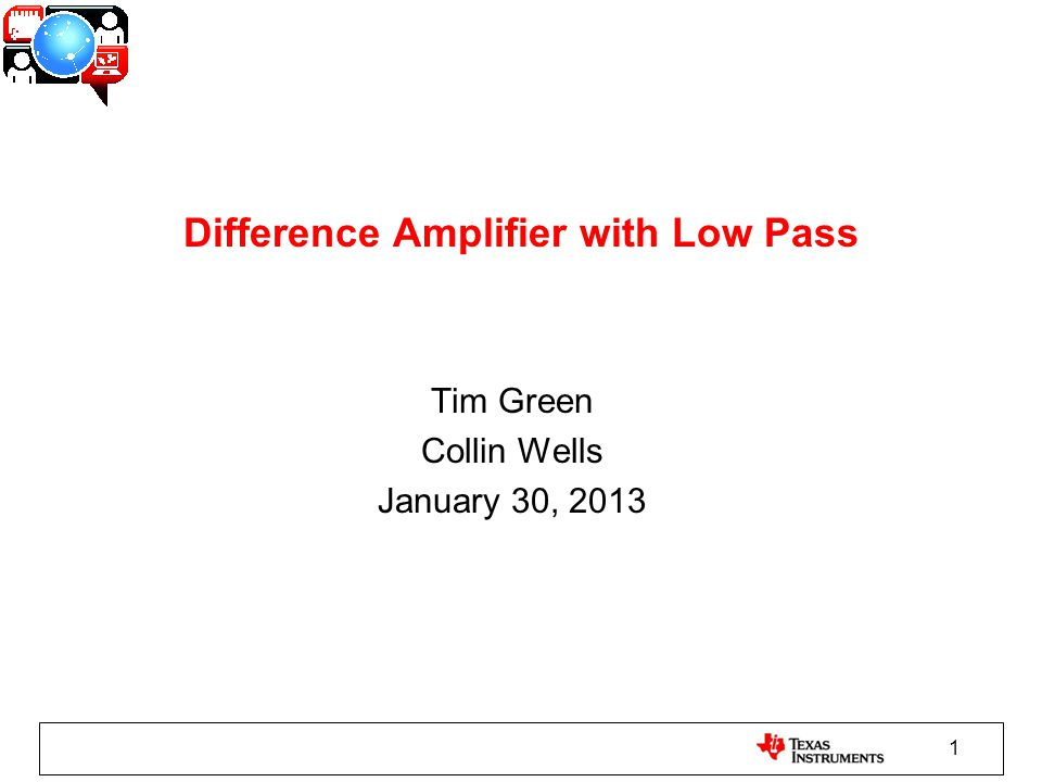 22 New Difference Amp – Loop Gain