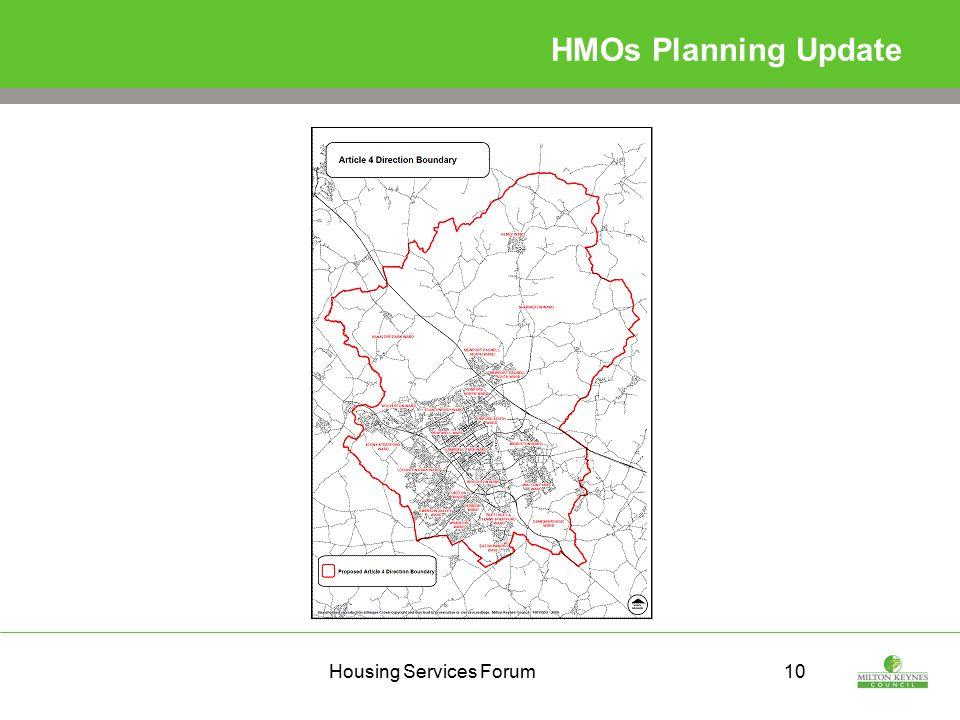 Housing Services Forum10 HMOs Planning Update