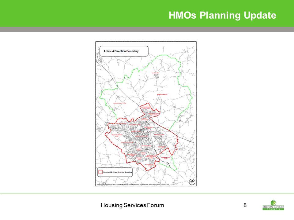 Housing Services Forum8 HMOs Planning Update