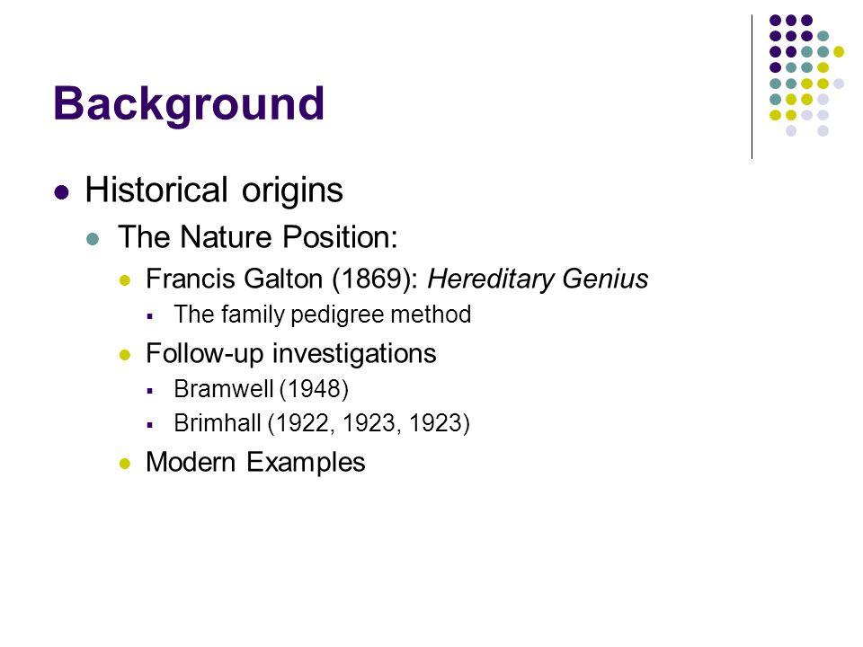 Nobel Laureates in the Sciences 7 parent-child pairs (e.g., Arthur Kornberg 1959 and Roger D.