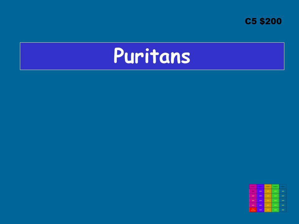 C5 $200 Puritans