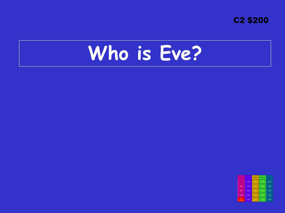C2 $200 Who is Eve?