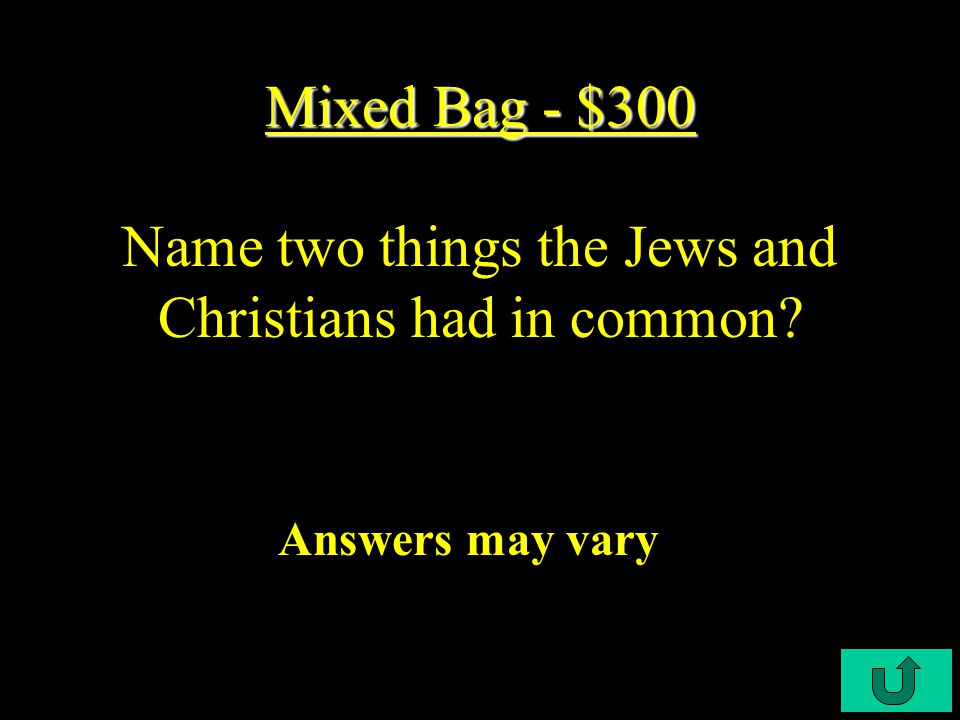 C4-$200 Mixed Bag - $200 Mixed Bag - $200 Both Greece and Rome had governments with separate branches of what.