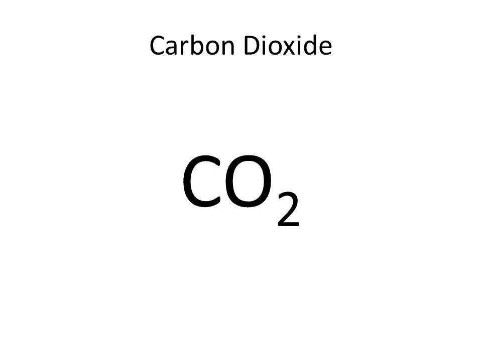 Carbon Dioxide CO 2