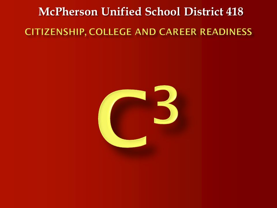 McPherson Unified School District 418