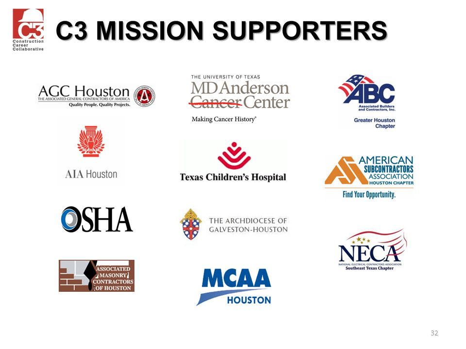 C3 MISSION SUPPORTERS 32