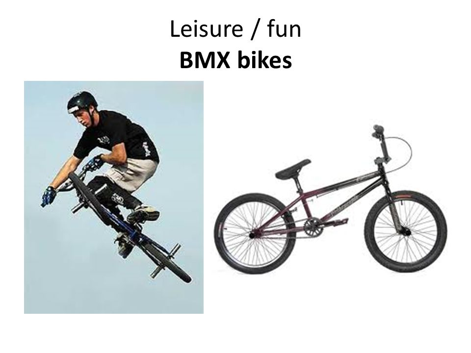 Leisure / fun BMX bikes