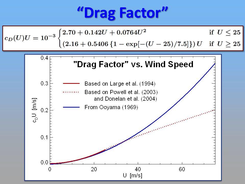 Drag Factor