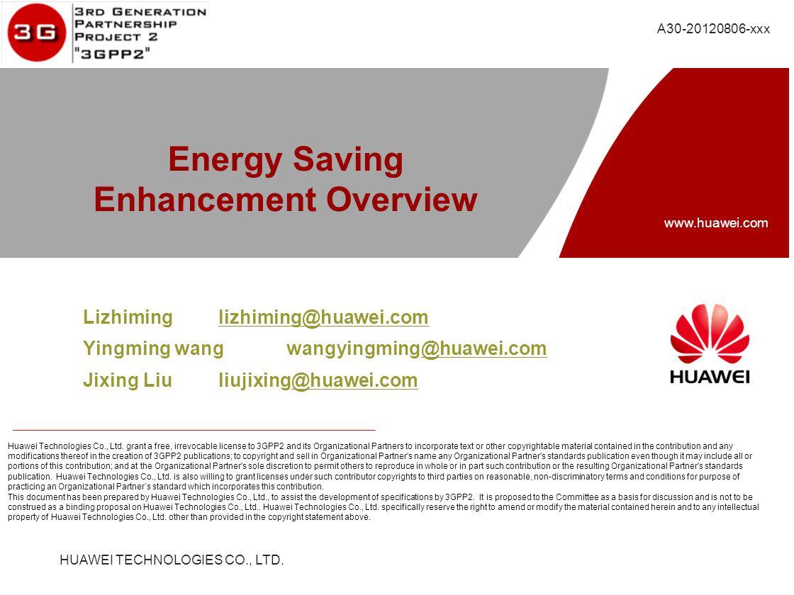 HUAWEI TECHNOLOGIES CO., LTD. www.huawei.com Huawei Technologies Co., Ltd.