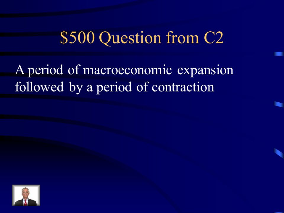 $400 Answer from C2 Recession