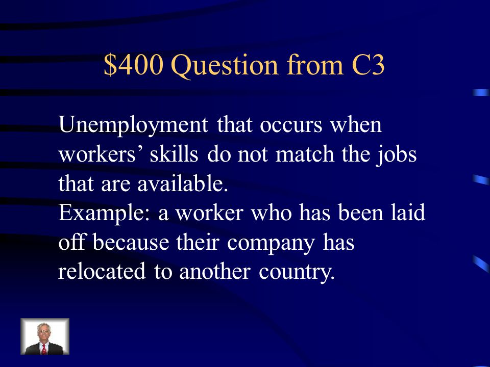 $300 Answer from C3 Cyclical Unemployment