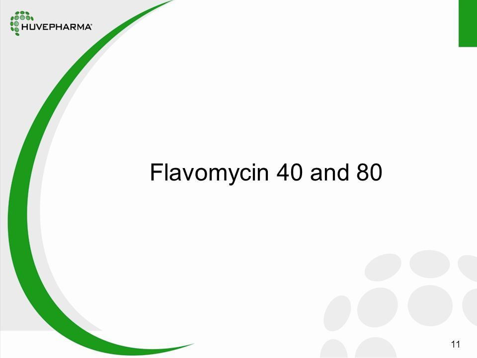 11 Flavomycin 40 and 80