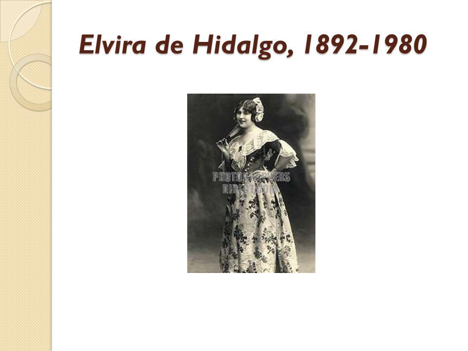 Elvira de Hidalgo, 1892-1980