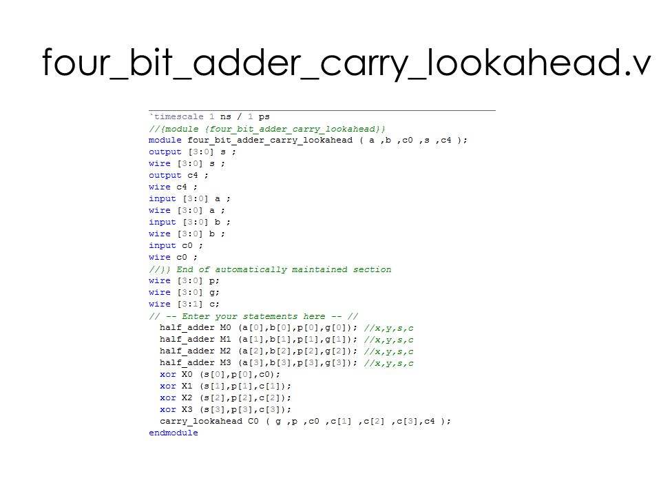 four_bit_adder_carry_lookahead.v