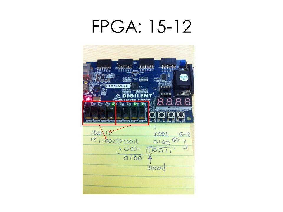 FPGA: 15-12