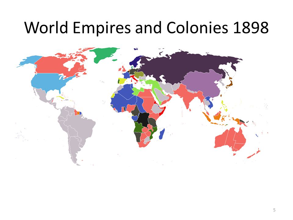 World Empires and Colonies 1898 5