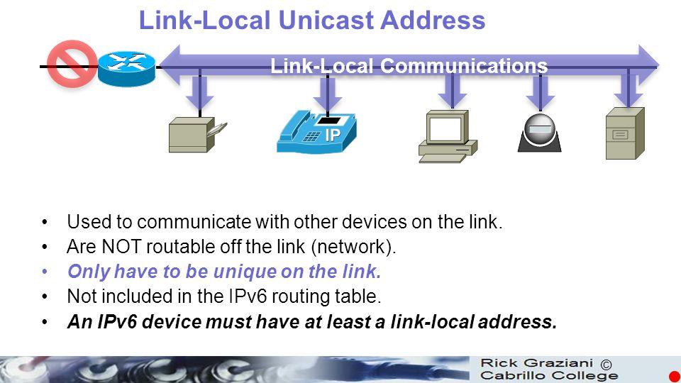 © R1 G0/0 FE80::1 G0/1 FE80::1 S0/0/0 FE80::1 R1(config)#interface gigabitethernet 0/0 R1(config-if)#ipv6 address fe80::1 .