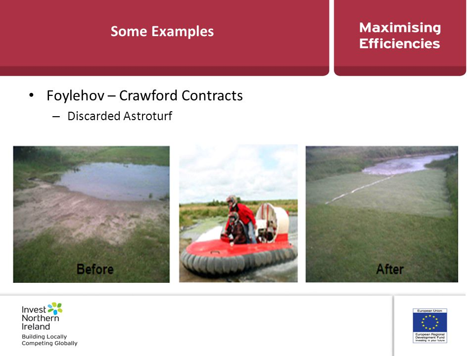 Some Examples Foylehov – Crawford Contracts – Discarded Astroturf