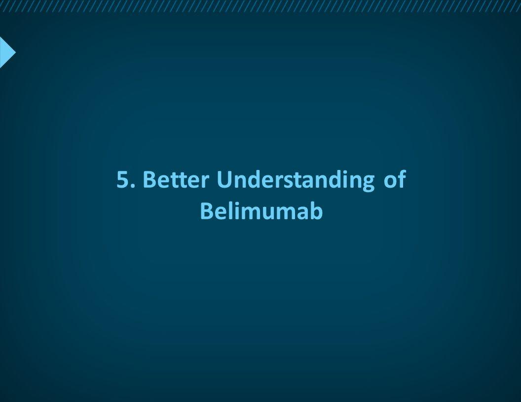 5. Better Understanding of Belimumab