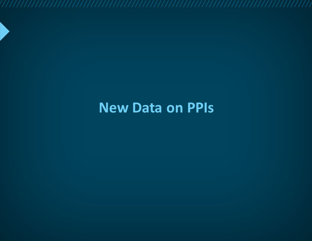 New Data on PPIs