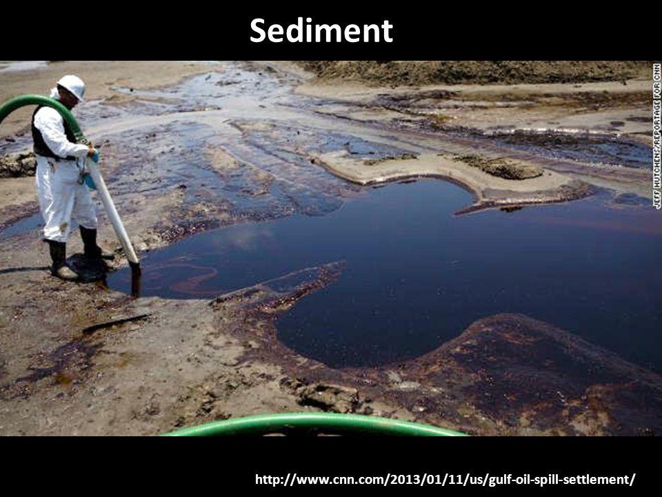 http://www.cnn.com/2013/01/11/us/gulf-oil-spill-settlement/ Sediment