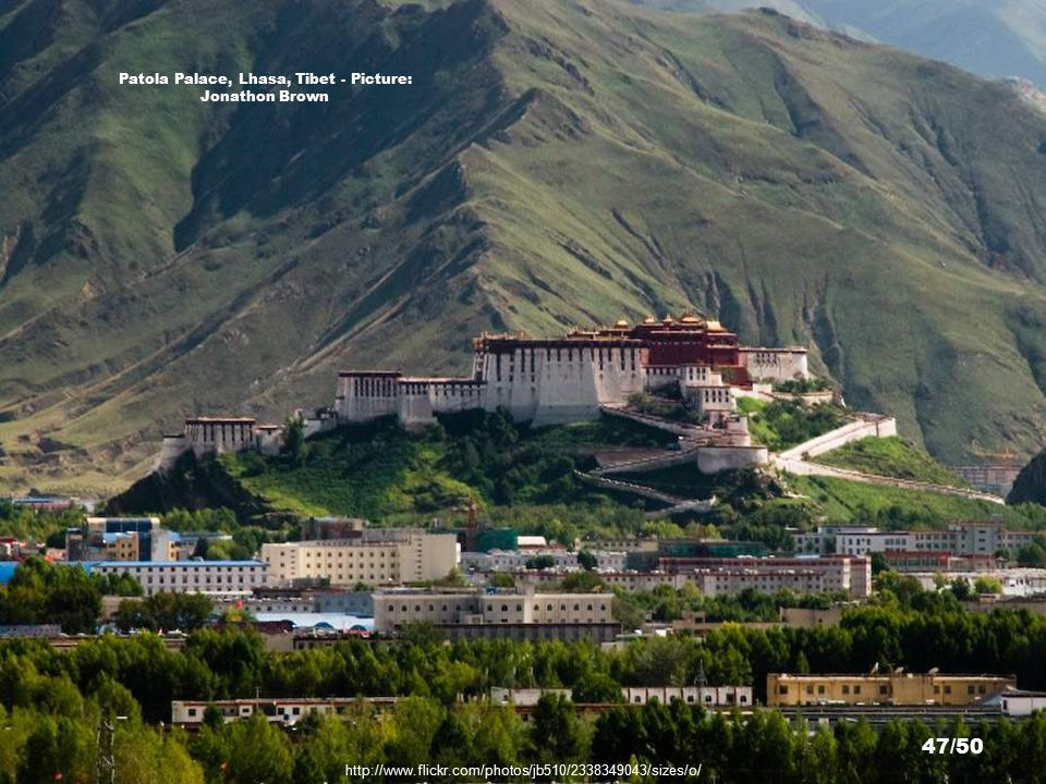 http://www.flickr.com/photos/toucheaven/71038103/sizes/z/ Patola Palace, Lhasa, Tibet - Picture: ToucHeaven 46/50