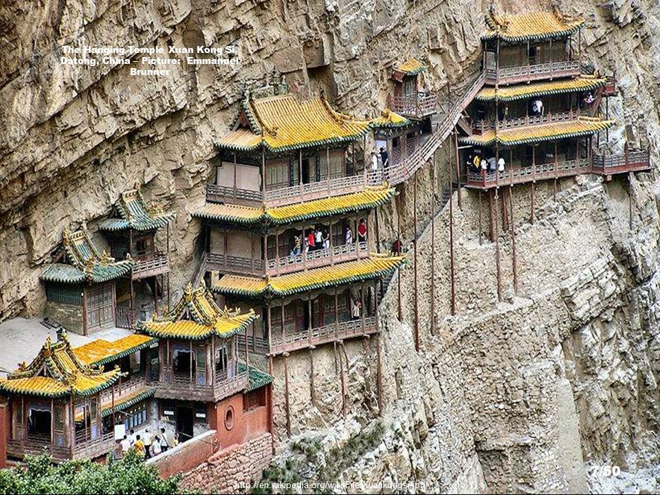 http://www.flickr.com/photos/avi_abrams/1473852516/sizes/o/ Tigers Nest Monastery, Bhutan – Picture: Avi Abrams 6/50