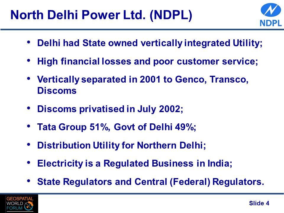 Slide 4 North Delhi Power Ltd.