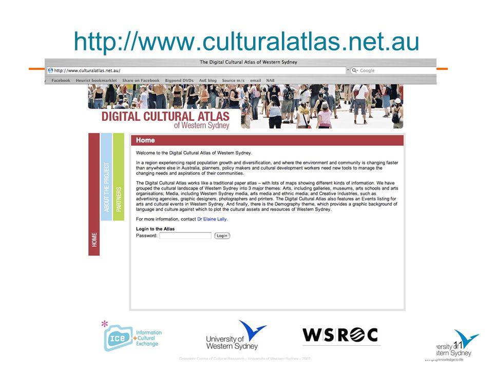 11 http://www.culturalatlas.net.au