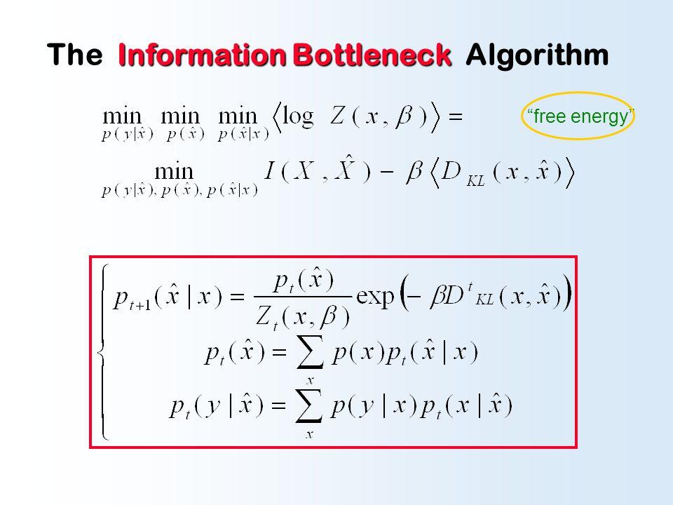 The emergent effective distortion measure: Generalized BA-algorithm