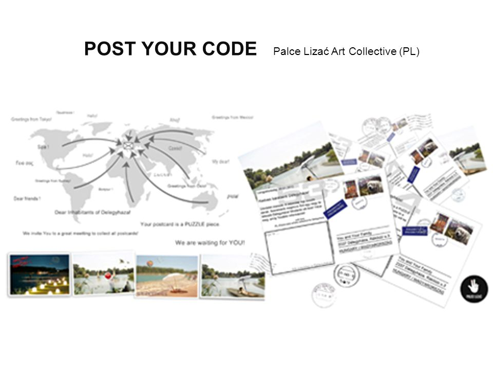 POST YOUR CODE Palce Lizać Art Collective (PL)