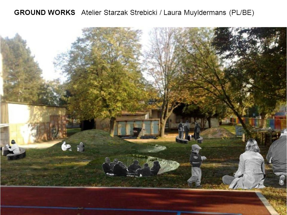 GROUND WORKS Atelier Starzak Strebicki / Laura Muyldermans (PL/BE)